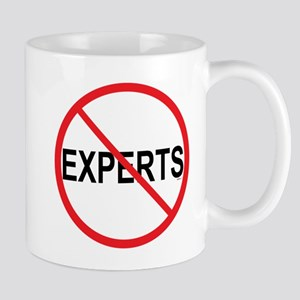 No to Experts Mugs