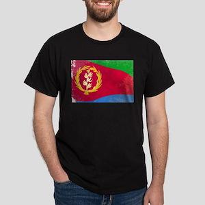 Eritrea Flag Grunge T-Shirt