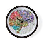 Dreamy Brain Wall Clock