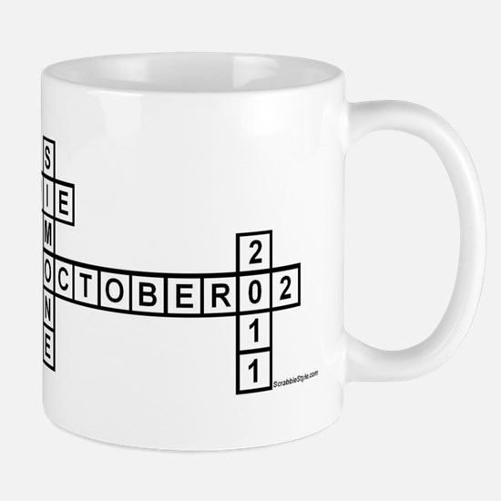 TICKNER SCRABBLE-STYLE Mugs