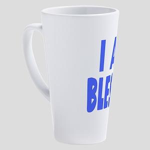 I Am Blessed 17 oz Latte Mug