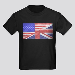 Union Jack and Stars and Stripes T-Shirt