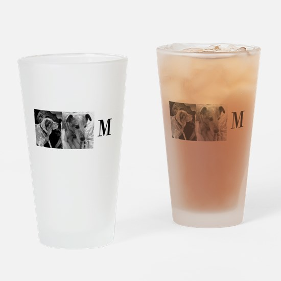 Monogram and Photos Mug by LH Drinking Glass