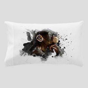 thinking monkey Pillow Case