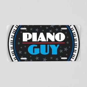 PIANO GUY Aluminum License Plate