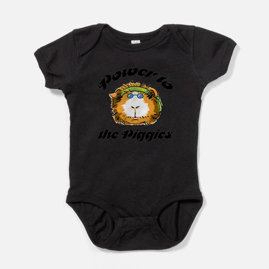 Power to the Piggies Infant Creeper Body Suit