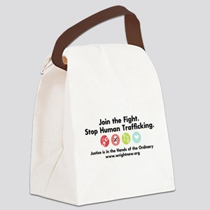 Stop Human Trafficking Canvas Lunch Bag