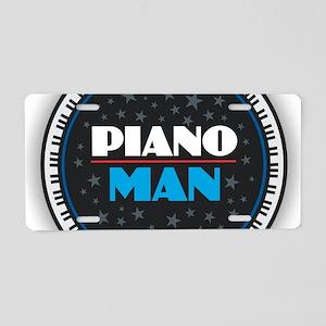 PIANO MAN Aluminum License Plate
