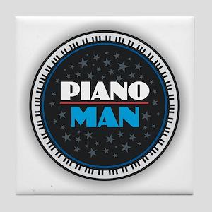 PIANO MAN Tile Coaster