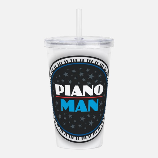 PIANO MAN Acrylic Double-wall Tumbler