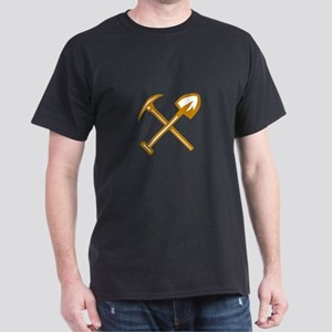 Pick Axe Shovel Crossed Retro T-Shirt
