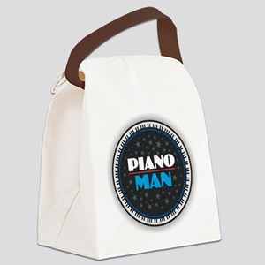 PIANO MAN Canvas Lunch Bag