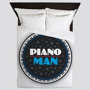 PIANO MAN Queen Duvet