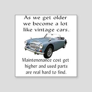 old age maintanance joke Sticker