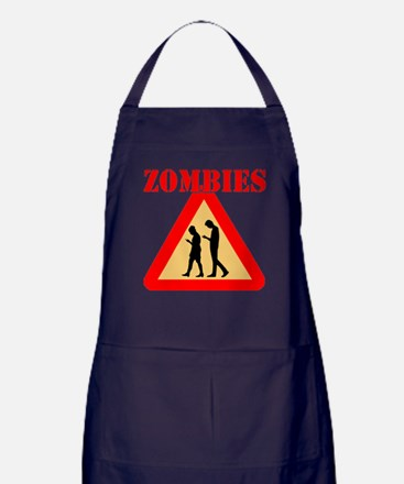 Teens With Cell Phones Apron (dark)