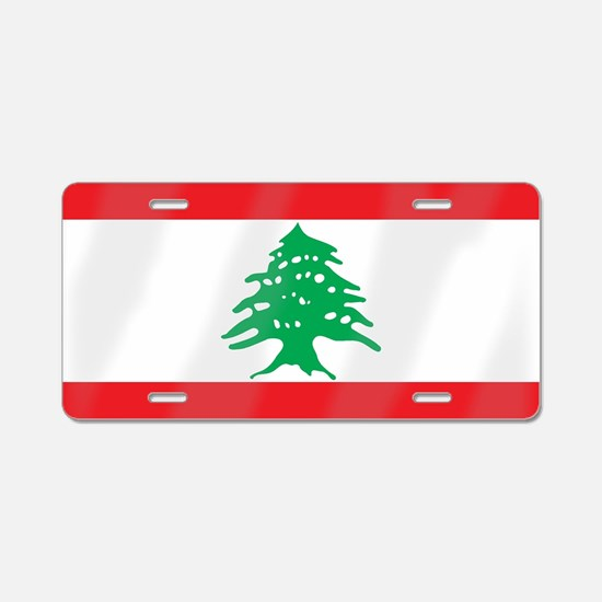 Unique Lebanon Aluminum License Plate
