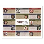Grit Project Quotes On Small Poster