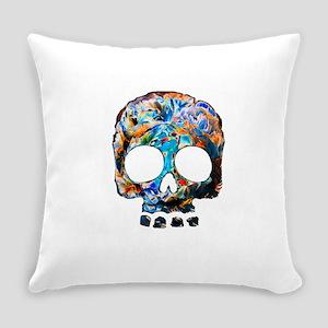 Death Flower Everyday Pillow