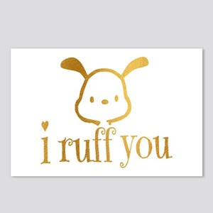 I Ruff You Postcards (Package of 8)