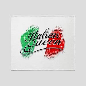 Italian Queen Throw Blanket
