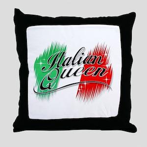 Italian Queen Throw Pillow