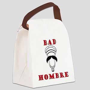 Lacrosse Bad Hombre Canvas Lunch Bag