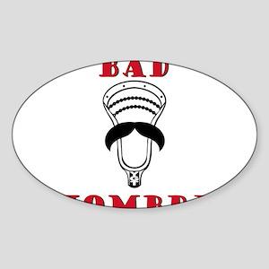 Lacrosse Bad Hombre Sticker