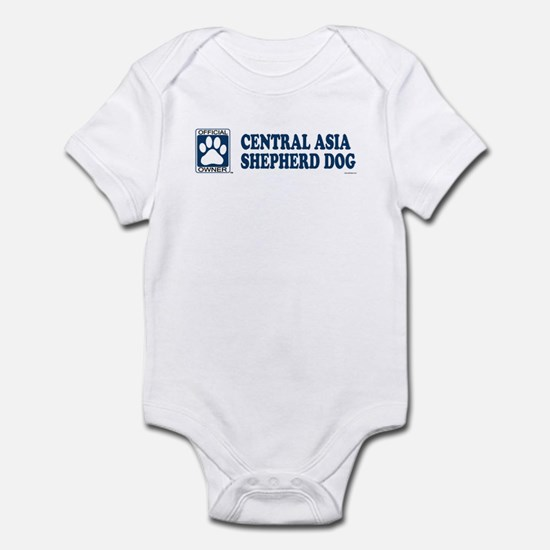 CENTRAL ASIA SHEPHERD DOG Infant Bodysuit