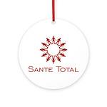 Sante Total Round Ornament