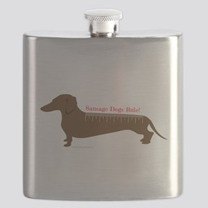 Sausage Dogs Rule Flask