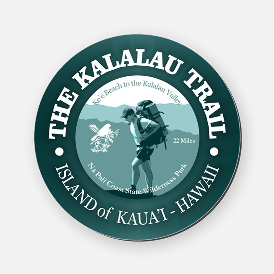 Kalalau Trail Cork Coaster