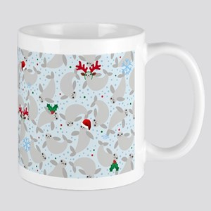 christmas Manatee Mugs