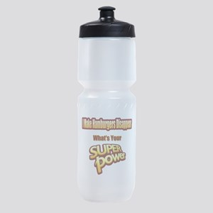 Super Power-Hamburgers Sports Bottle