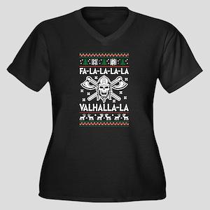 Christmas Firefighter T Shirt Plus Size T-Shirt
