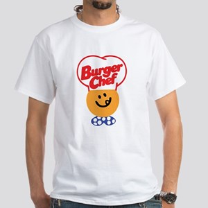 Burger Chef White T-Shirt