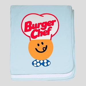 Burger Chef baby blanket