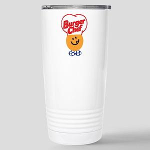 Burger Chef Stainless Steel Travel Mug