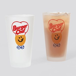 Burger Chef Drinking Glass