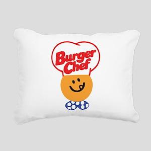 Burger Chef Rectangular Canvas Pillow