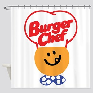 Burger Chef Shower Curtain