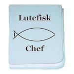 Lutefisk Chef baby blanket