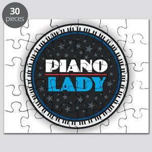 PIANO LADY Puzzle