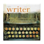 typewriterwriter Tile Coaster