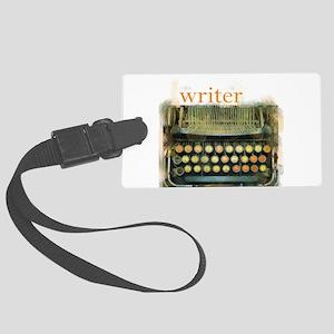 typewriterwriter Luggage Tag