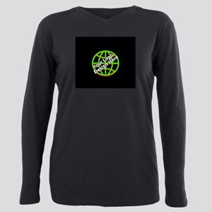 Your Logo over a Black Background T-Shirt