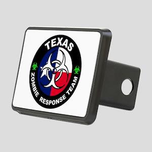 Texas ZRT White Rectangular Hitch Cover