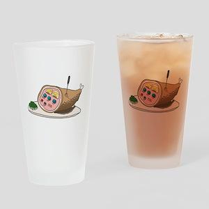 SAT_hamradio Drinking Glass