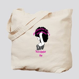Natural Hair Lifestyle Tote Bag