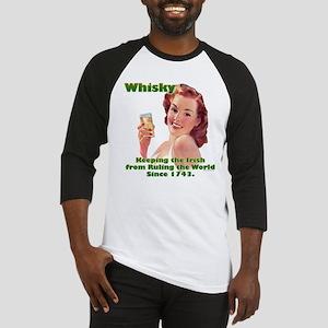 Irish Whisky Baseball Jersey