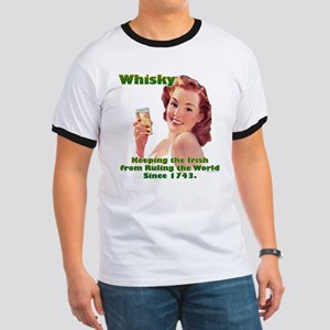 Irish Whisky Ringer T